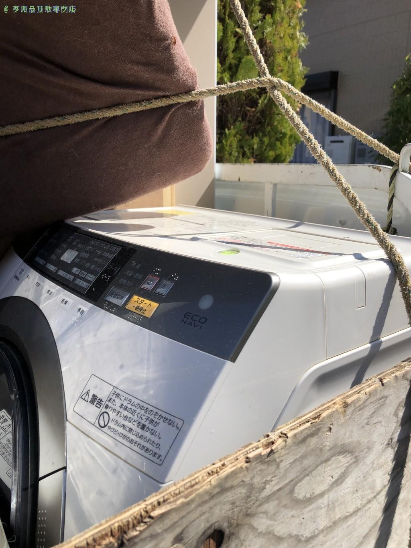 【栗東市】衣装ケース、洗濯機などの買取・回収のご依頼者さま
