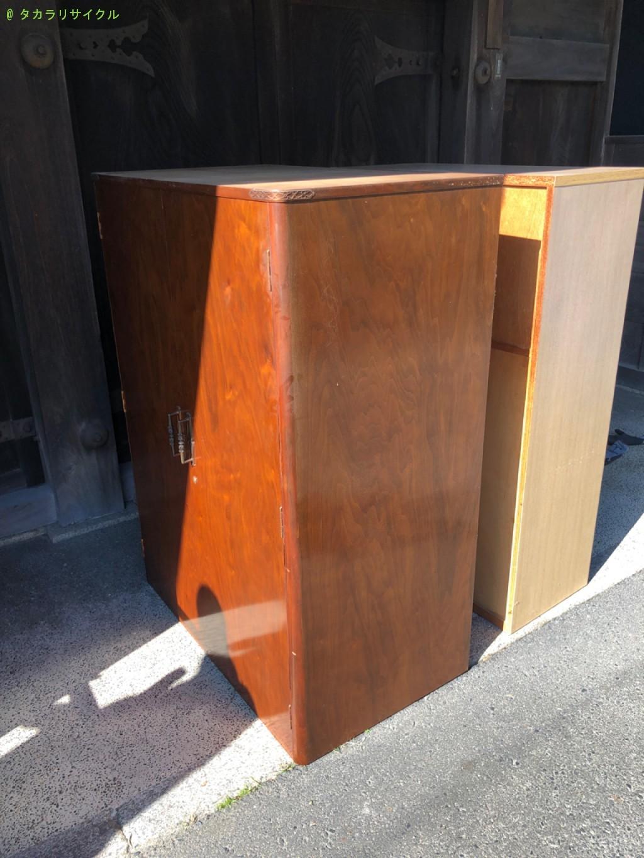 【蒲生郡日野町】収納棚2つの処分・回収のご依頼者さま