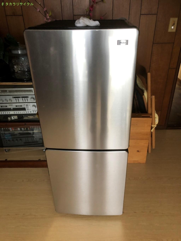 【栗東市】食器棚、冷蔵庫、洗濯機など家具や家電の処分・回収のご依頼者さま