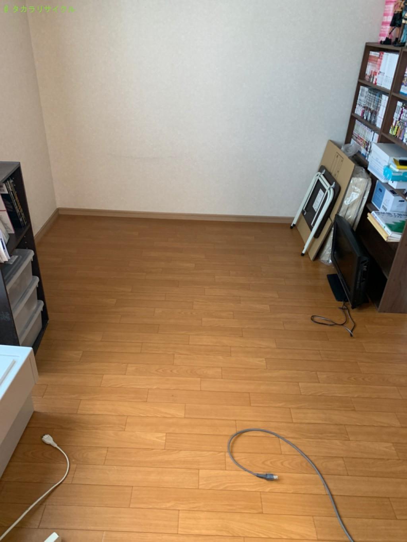 【甲賀市甲賀町】ダイニングテーブル・椅子セット、ベッド、三段ボックスなどの処分・回収のご依頼者さま