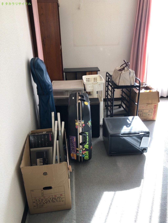 【東近江市中野町】洗濯機、化粧台、リビング収納棚など家具や家電の処分・回収のご依頼者さま