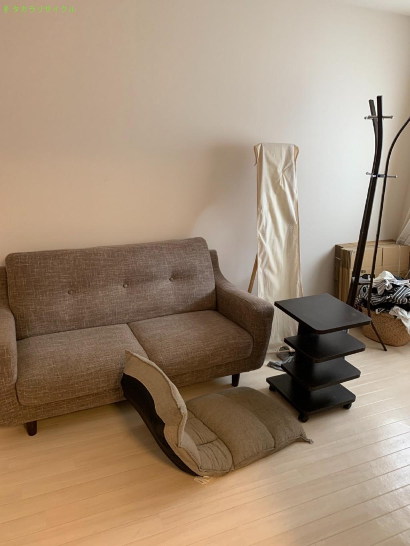 【大津市今堅田】ベッド・ソファ・テーブルの回収のご依頼者さま