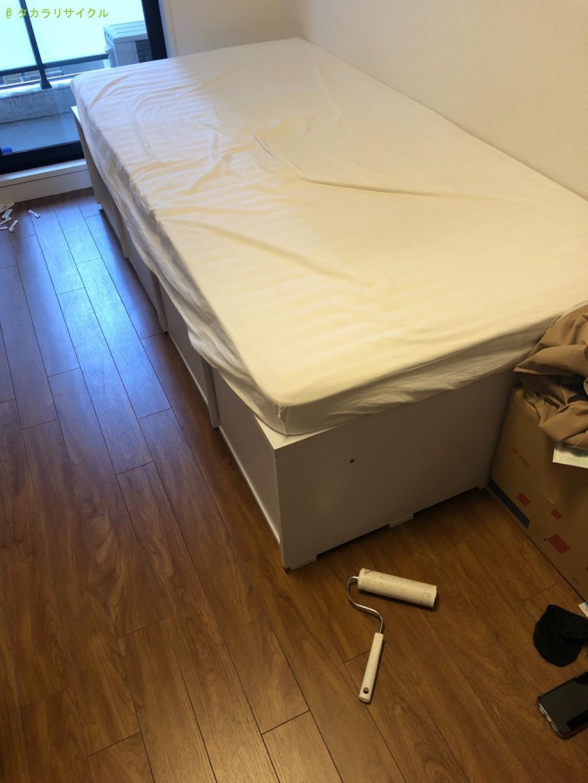 【草津市南草津】ベッド・マットレスの処分・回収のご依頼者さま