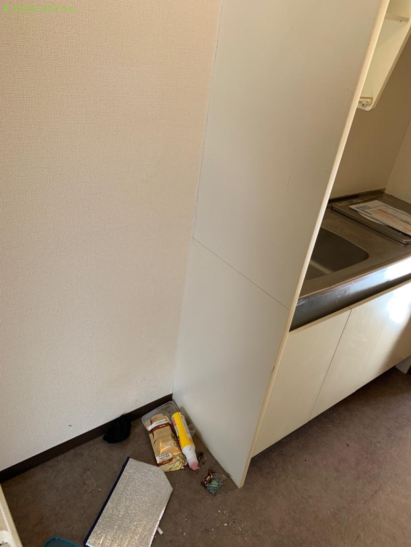 【草津市青地町】洗濯機、冷蔵庫、電子レンジ、ベッドマットなどの処分・回収のご依頼者さま