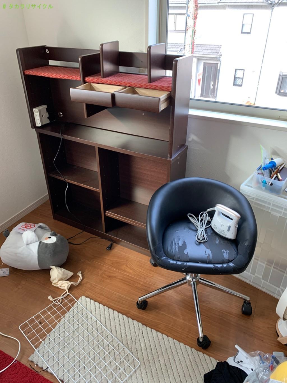 【大津市】学習机、椅子、ベッドマットなどの処分・回収のご依頼者さま