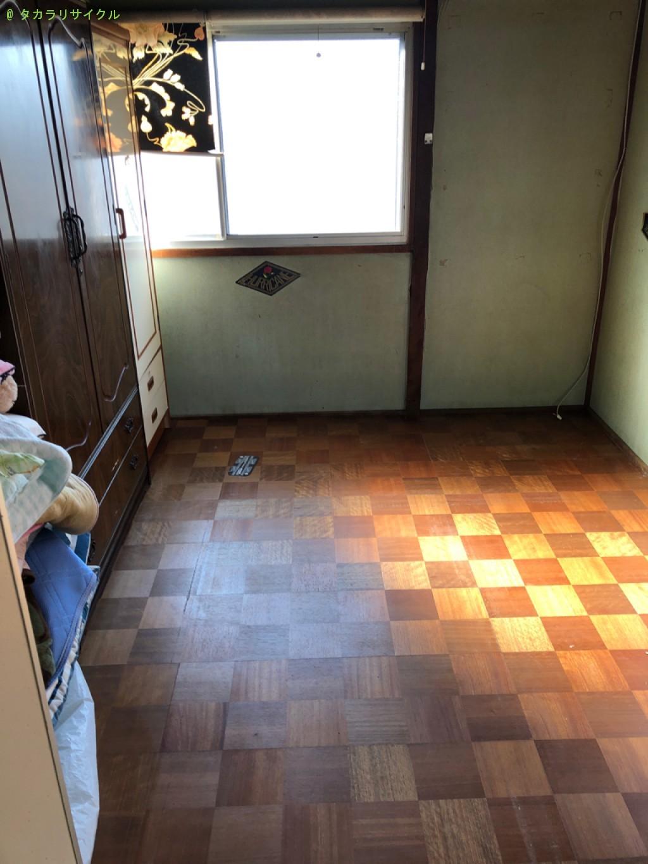 【東近江市今堀町】冷蔵庫ほか家具家電の処分・回収のご依頼者さま