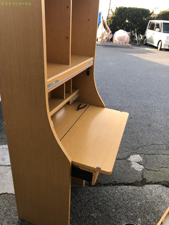 【大津市石山寺】学習机の処分・回収のご依頼者さま